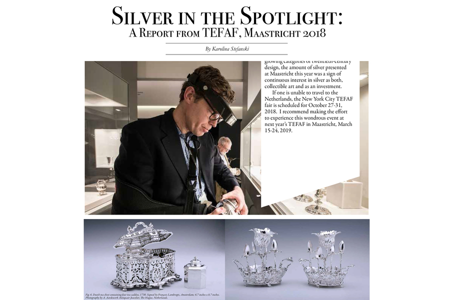 Silver in the spotlight at Tefaf