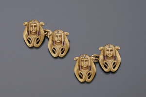 Jewels - Egyptian revival cufflinks