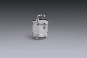 Miniatures - Miniature tea caddy Lodewijk Eylof