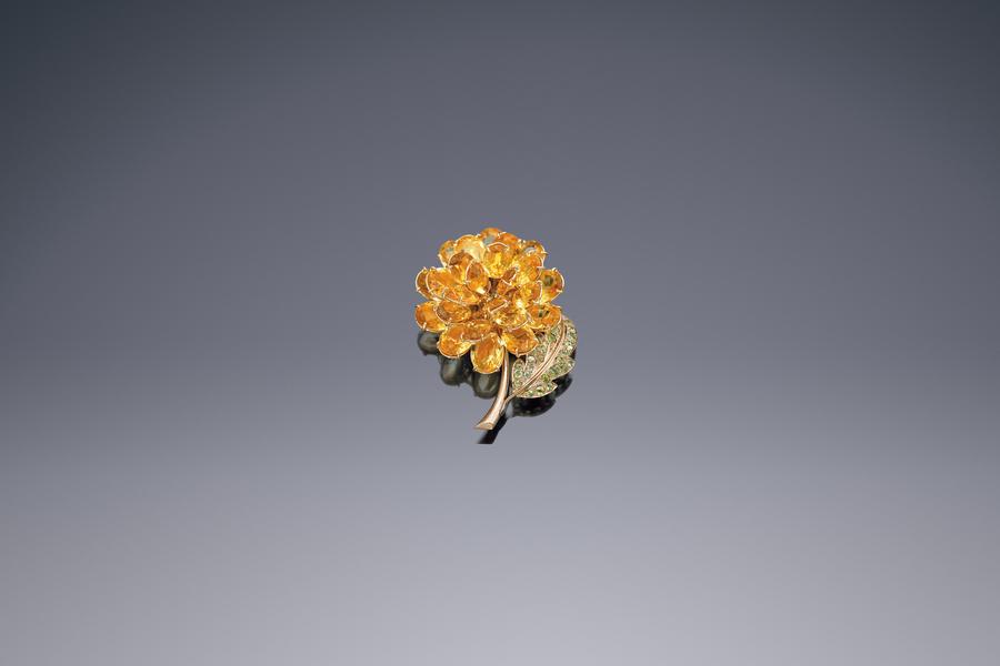 Jewels - A Dazzling Dahlia Brooch René Boivin