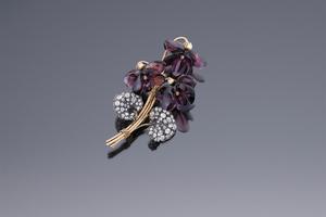 Jewels - Parma Violet Brooch