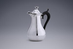 Silver - Large Chocolate Pot Reinier de Haan