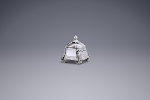 Miniatures - Miniature Tobacco jar Jan Borduur