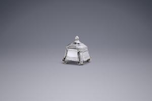 Miniatures - Miniature Tobacco jar Jan Borduur