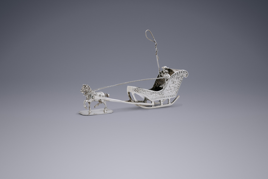 Miniatures - Sleigh with horse Willem  van Strant