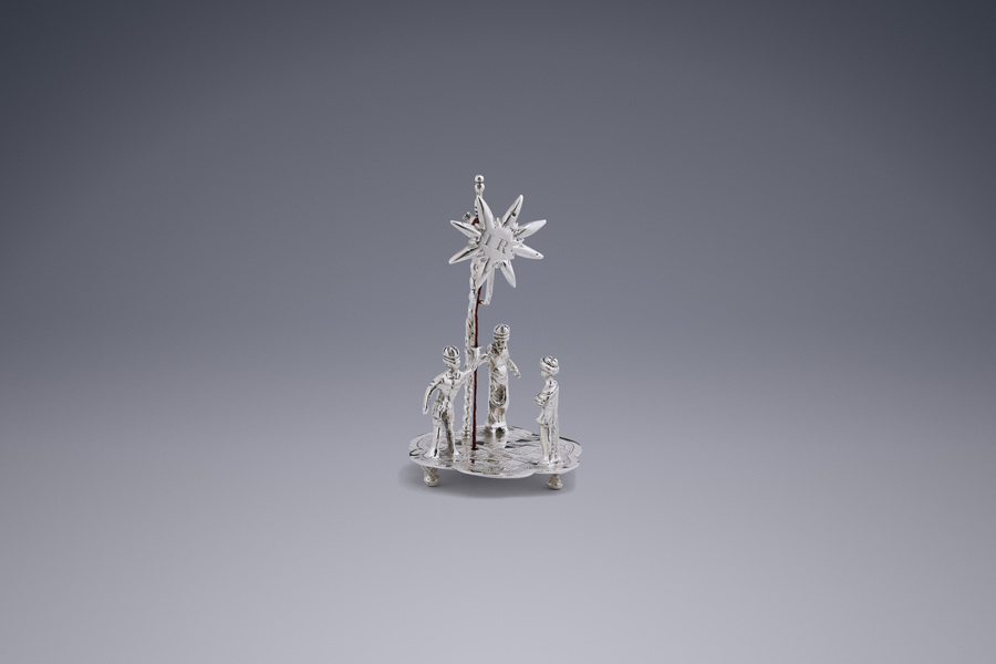 Miniatures - Epiphany scene Frederik van Strant