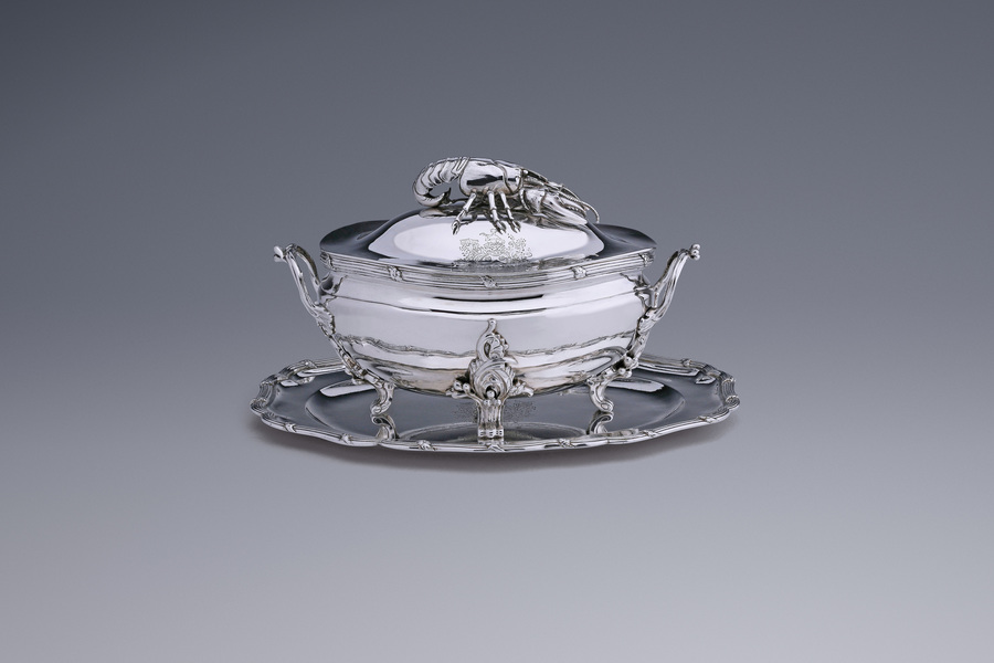 Silver - Lobster tureen Jacques Peirolet
