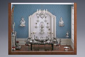 Miniatures - A Delightful Dining Room Arnoldus van Geffen
