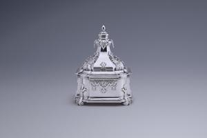 Silver - Tobacco box Gerardus Cornelii