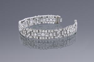 Jewels - Art Deco Diamond Bracelet