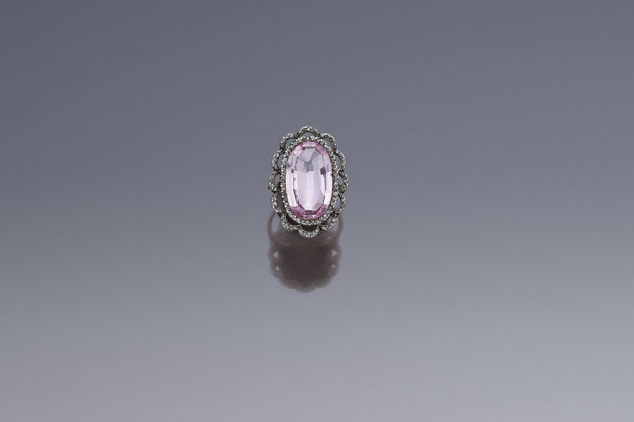 Jewels - Important Pink Topaz Ring