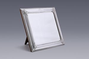 Silver - A Superb Seventeenth-Century Mirror  Daniel Bouman