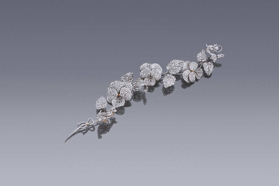 Jewels - An Antique Diamond Corsage Ornament