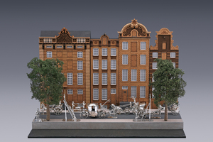 Miniatures - The Herengracht in Amsterdam Arnoldus van Geffen