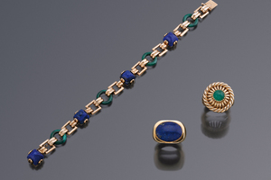 Jewels - Symphonies in Blue and Green Cartier