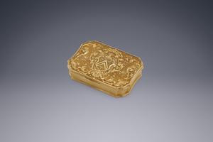 Silver - The Gold Van Eys Snuffbox Jean Saint