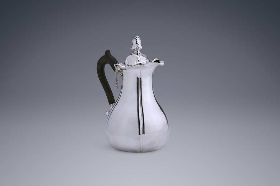 Silver - An Elegant Chocolate Pot Alger Mensma