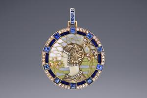 Jewels - A Rare Art Nouveau Pendant Louis Masriera