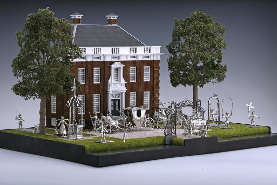 Miniatures - Goudestein mansion Arnoldus van Geffen