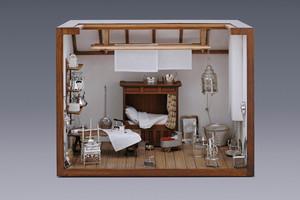 Miniatures - Miniature Linen Room Arnoldus van Geffen