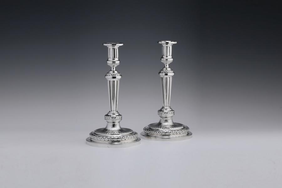 Silver - Candlesticks Dirk Evert Grave